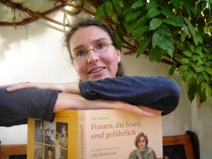 Die neue Büchereileiterin Stephanie Eichhorn